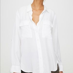 The Group by Babaton Utility Button-Up